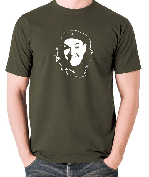 Che Guevara Style - Stan Laurel - Men's T Shirt - olive