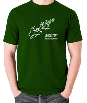 Cheech And Chong - Sweet and Low Upholstery - Men's T Shirt - green