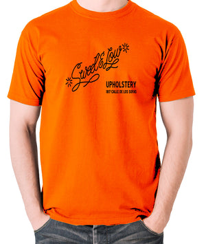 Cheech And Chong - Sweet and Low Upholstery - Men's T Shirt - orange