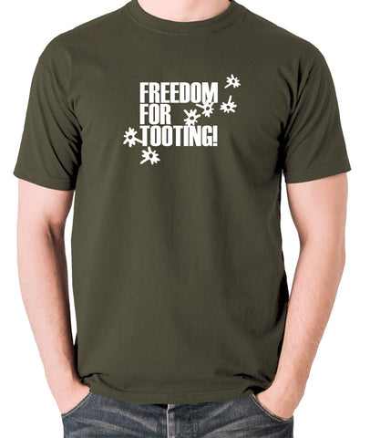 Citizen Smith, Robert Lindsay - Freedom For Tooting - Men's T Shirt - olive
