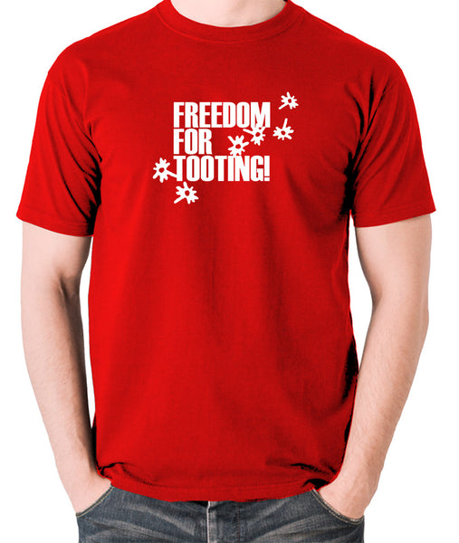 Citizen Smith, Robert Lindsay - Freedom For Tooting - Men's T Shirt - red