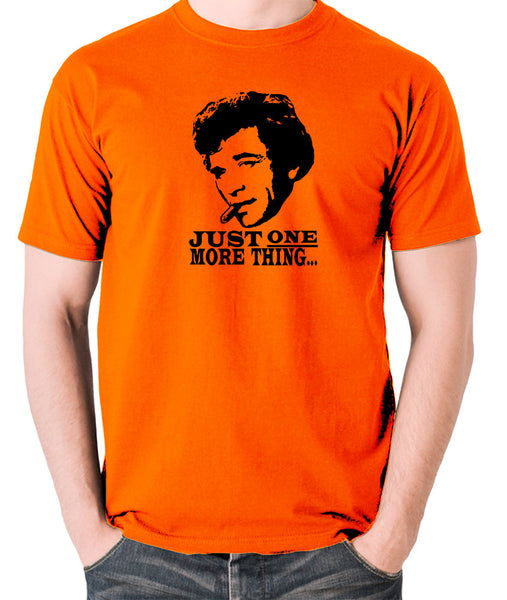 Columbo - Just One More Thing - Men's T Shirt - orange