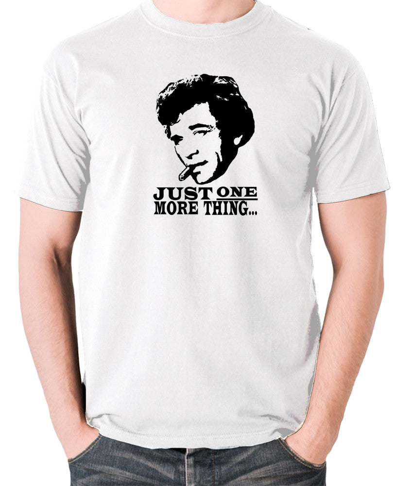 Columbo - Just One More Thing - Men's T Shirt - white