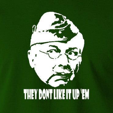 Dad's Army - Lance Corporal Jones, They Don't Like It Up 'Em - Men's T Shirt