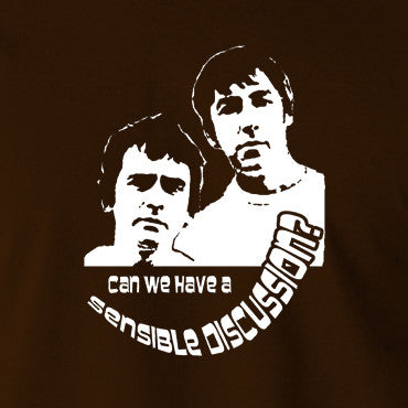 Derek And Clive - Peter Cook and Dudley Moore - Can We Have a Sensible Discussion? - Men's T Shirt