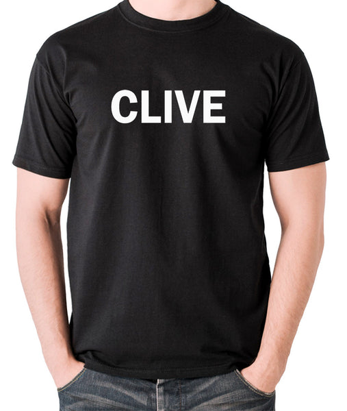 Derek And Clive - Peter Cook and Dudley Moore - Clive - Men's T Shirt - black