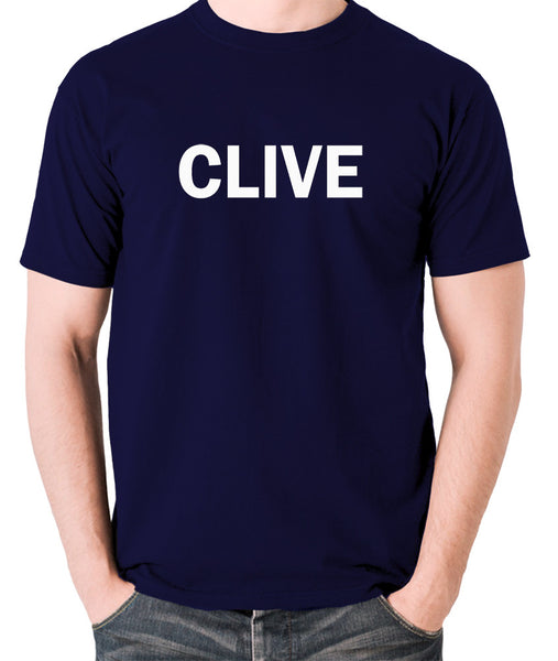 Derek And Clive - Peter Cook and Dudley Moore - Clive - Men's T Shirt - navy