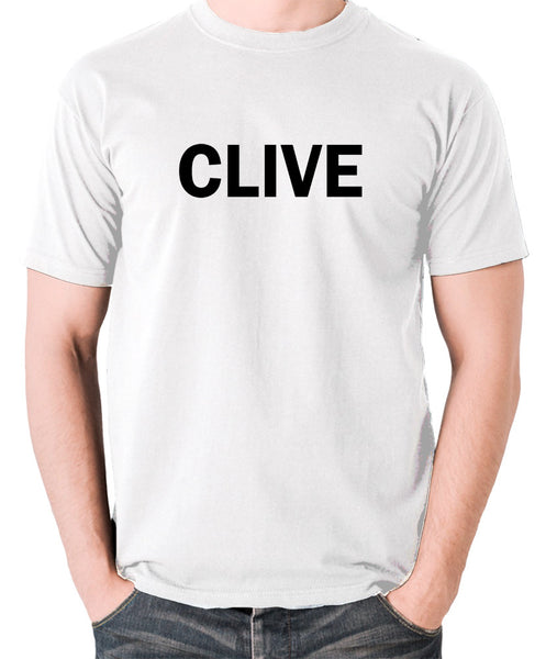Derek And Clive - Peter Cook and Dudley Moore - Clive - Men's T Shirt - white