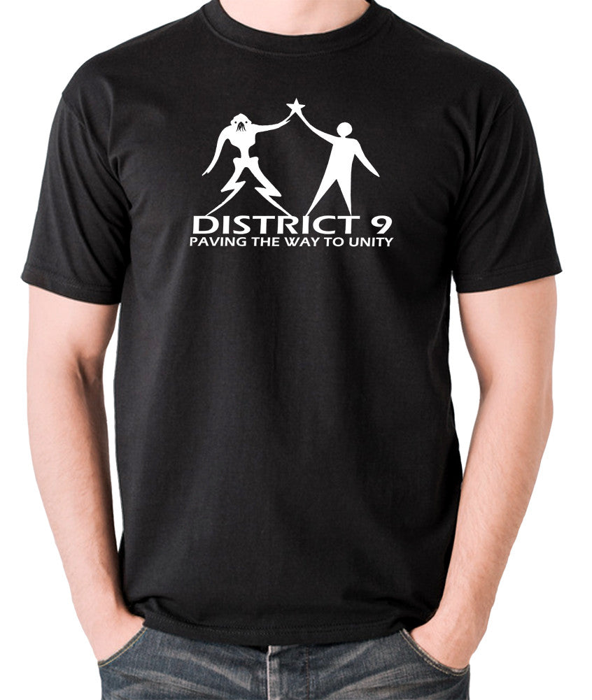 District 9 - Paving The Way To Unity - Men's T Shirt - black