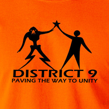 District 9 - Paving The Way To Unity - Men's T Shirt