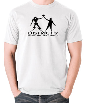District 9 - Paving The Way To Unity - Men's T Shirt - white