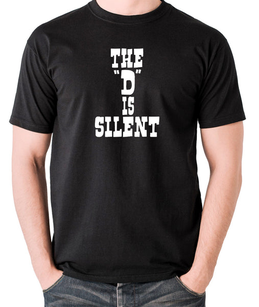 Django Unchained - The 'D' is Silent - Men's T Shirt - black