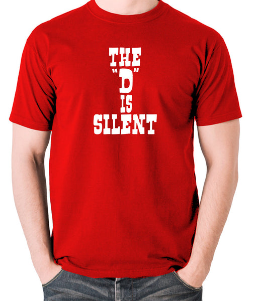 Django Unchained - The 'D' is Silent - Men's T Shirt - red