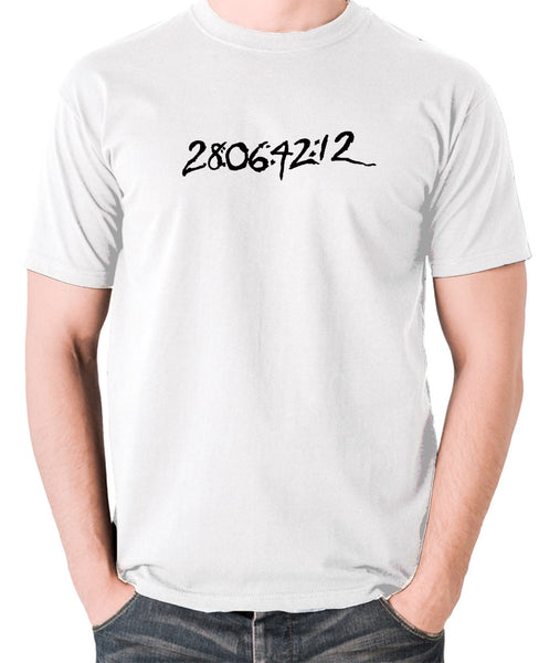 Donnie Darko - 28:06:42:12 - Men's T Shirt - white