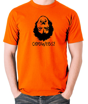 Drop Dead Fred - Cobwebs - Men's T Shirt - orange