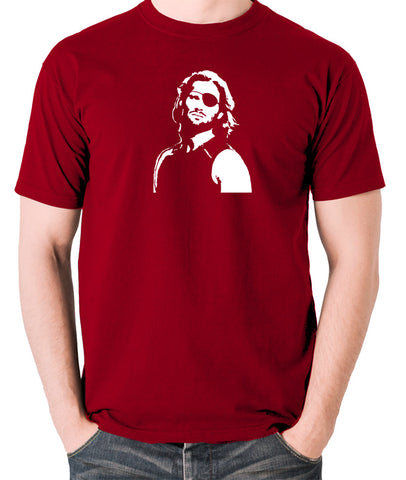 Escape From New York - Snake Plissken - Men's T Shirt - brick red