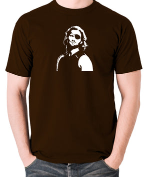 Escape From New York - Snake Plissken - Men's T Shirt - chocolate