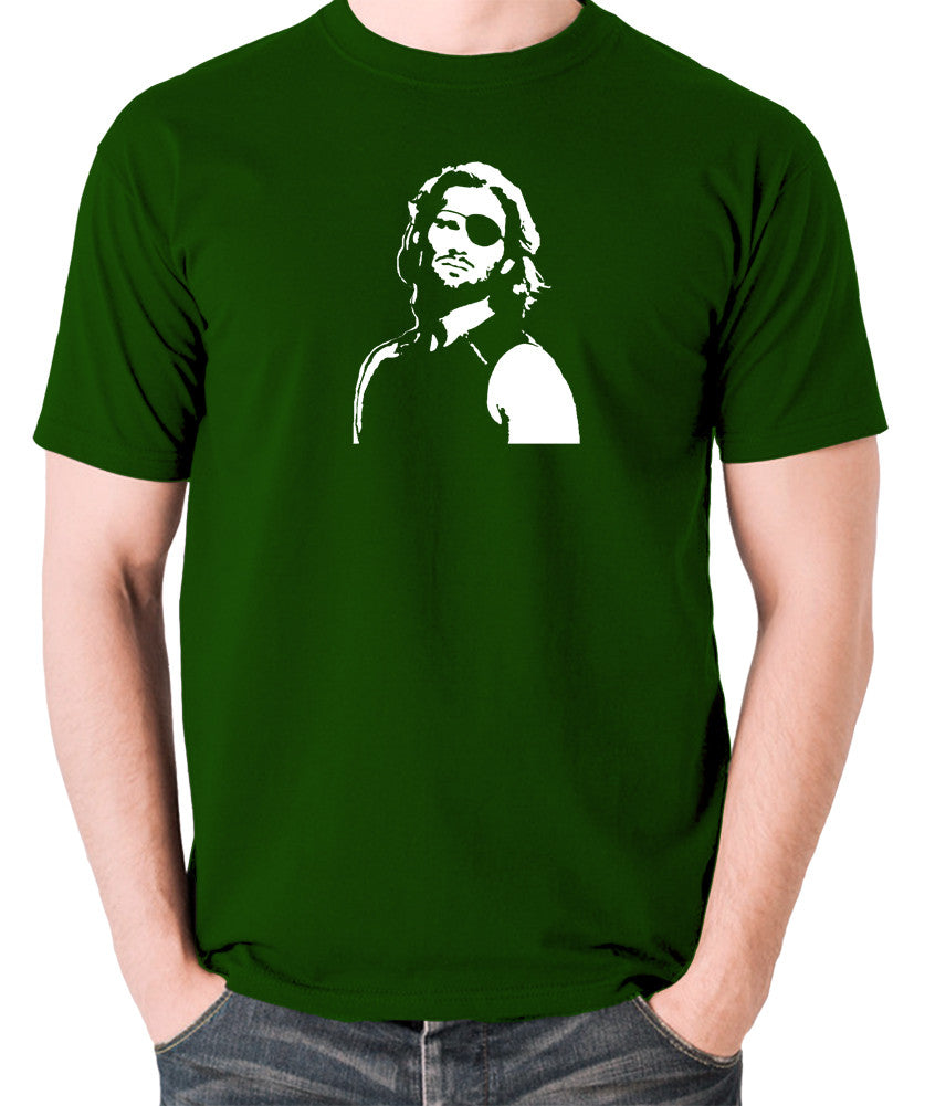 Escape From New York - Snake Plissken - Men's T Shirt - green