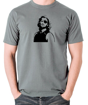 Escape From New York - Snake Plissken - Men's T Shirt - grey