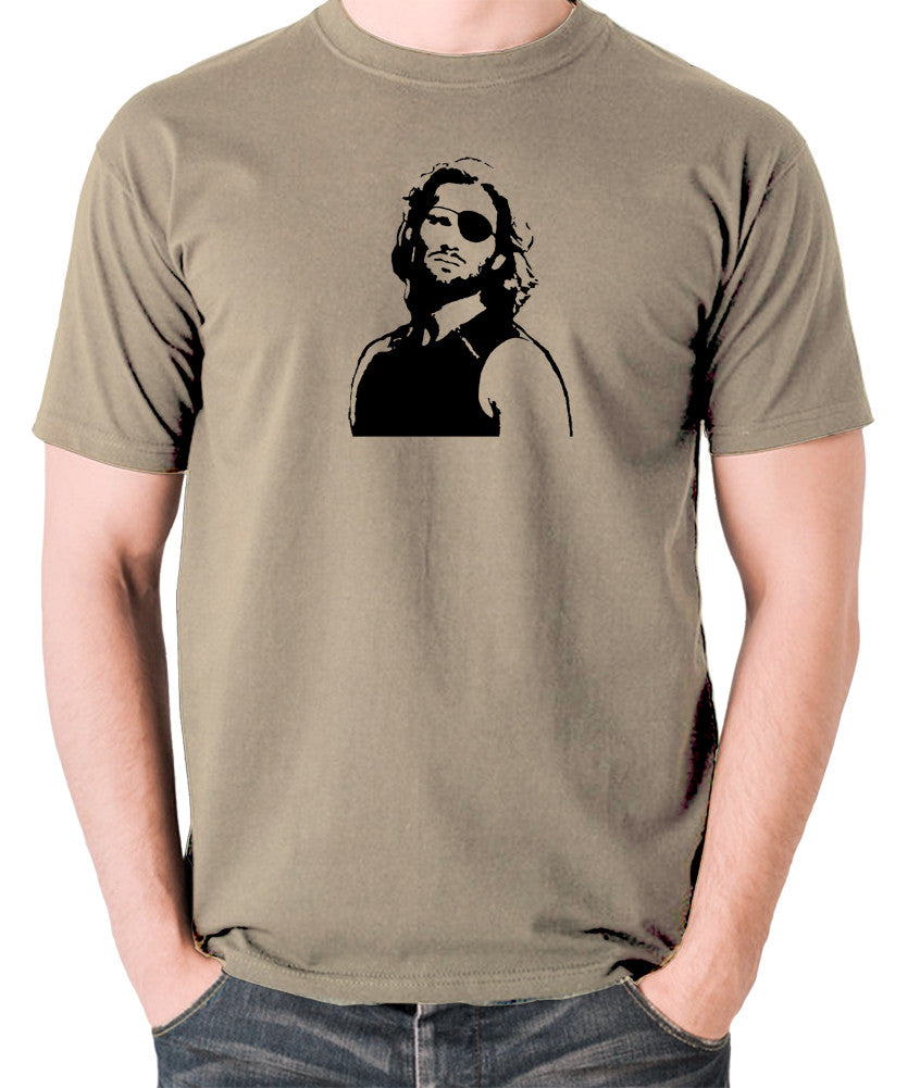 Escape From New York - Snake Plissken - Men's T Shirt - khaki