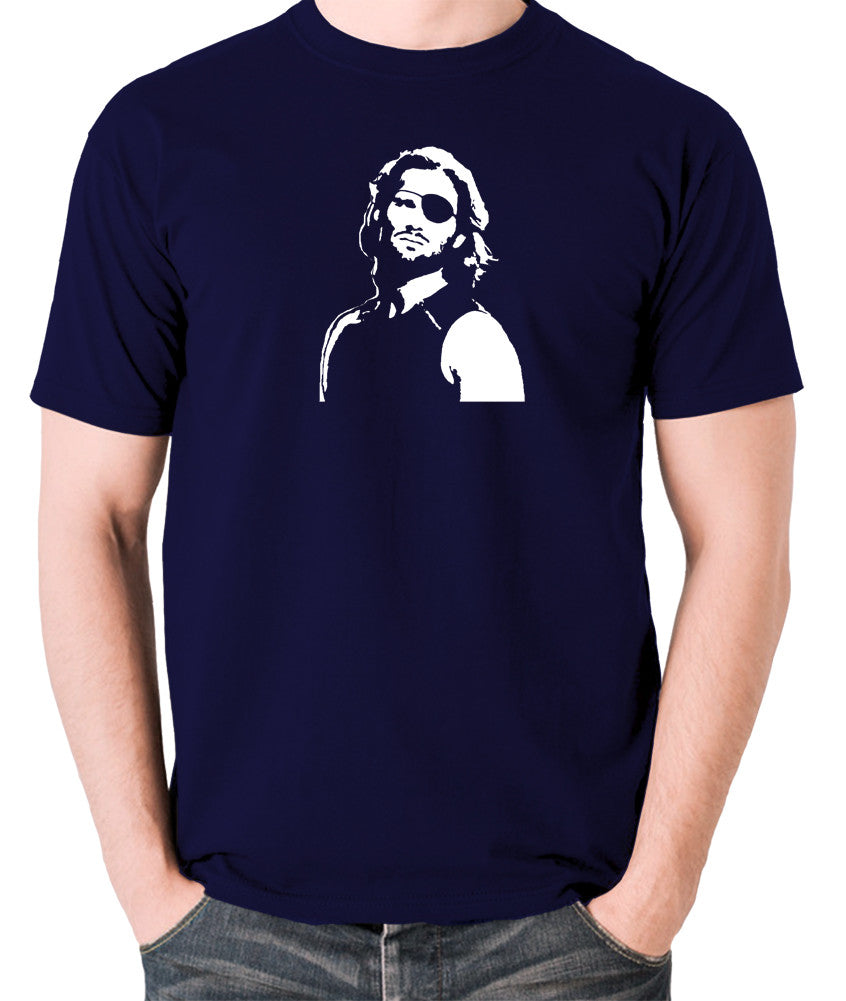 Escape From New York - Snake Plissken - Men's T Shirt - navy