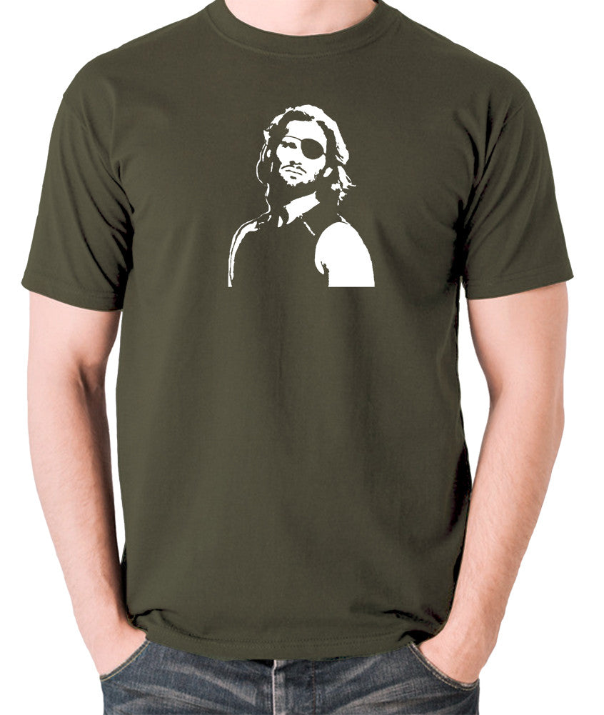 Escape From New York - Snake Plissken - Men's T Shirt - olive