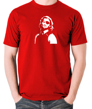 Escape From New York - Snake Plissken - Men's T Shirt - red