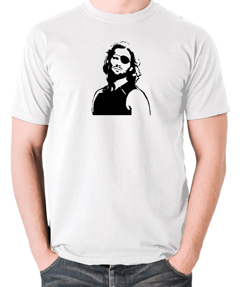 Escape From New York - Snake Plissken - Men's T Shirt - white