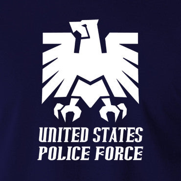 Escape From New York - United States Police Force Badge - Men's T Shirt