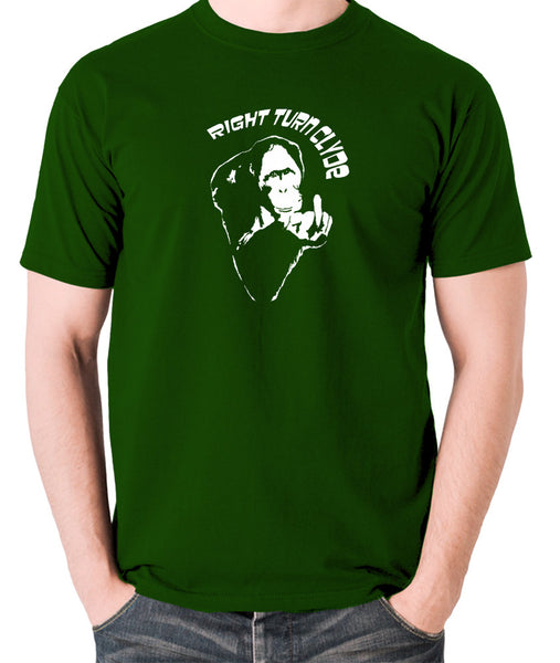 Every Which Way But Loose - Right Turn Clyde - Men's T Shirt - green