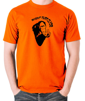 Every Which Way But Loose - Right Turn Clyde - Men's T Shirt - orange