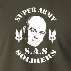 Extras - Ross Kemp, S.A.S Super Army Soldiers - Men's T Shirt