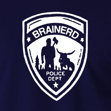Fargo - Brainerd Police Department Badge - Men's T Shirt
