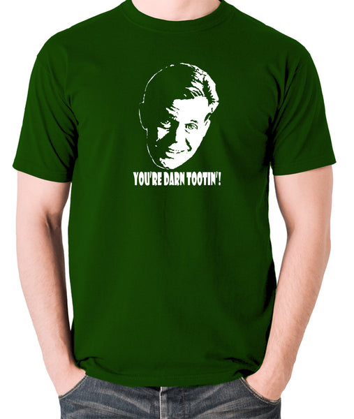Fargo - Jerry Lundegaard, You're Darn Tootin' - Men's T Shirt - green