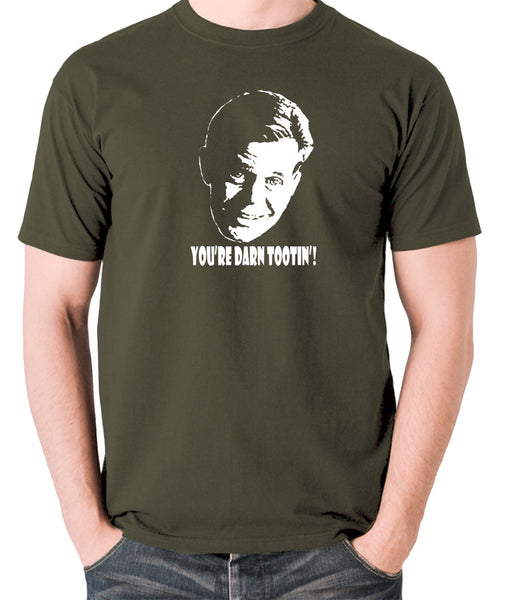Fargo - Jerry Lundegaard, You're Darn Tootin' - Men's T Shirt - olive