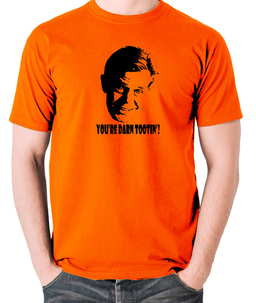 Fargo - Jerry Lundegaard, You're Darn Tootin' - Men's T Shirt - orange