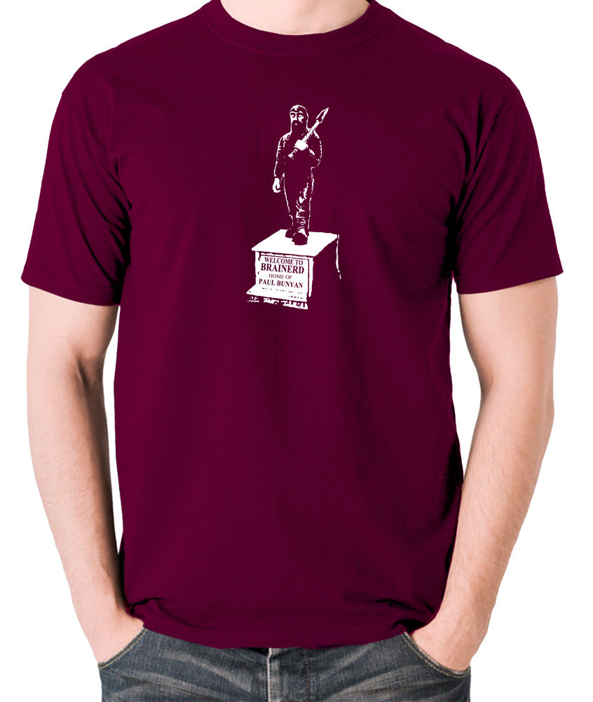 Fargo - Welcome To  Brainerd - Men's T Shirt - burgundy