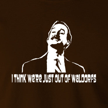 Fawlty Towers - Basil, I Think We're Just Out Of Waldorfs - Men's T Shirt