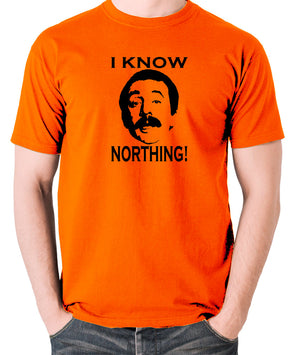 Fawlty Towers - Manuel, I Know Northing - Men's T Shirt - orange