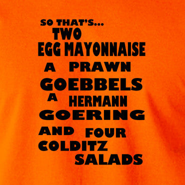 Fawlty Towers - The German's Order, Colditz Salad - Men's T Shirt
