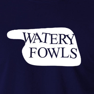 Fawlty Towers - Watery Fowls Sign - Men's T Shirt