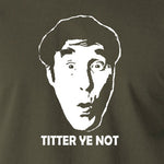 Frankie Howerd - Titter Ye Not - Men's T Shirt