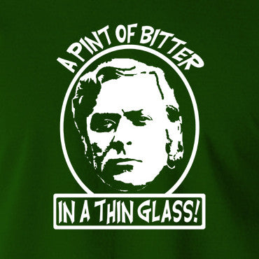 Michael Caine, Get Carter - Jack Carter, A Pint of Bitter in a Thin Glass - Men's T Shirt