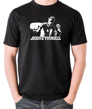 Get Carter - Jack Carter, Behave Yourself - Men's T Shirt - black