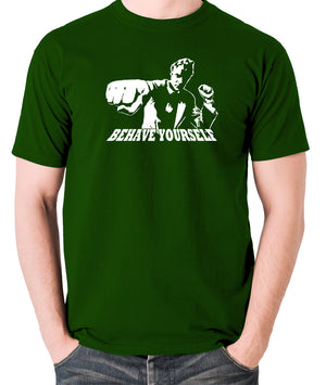 Get Carter - Jack Carter, Behave Yourself - Men's T Shirt - green