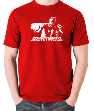 Get Carter - Jack Carter, Behave Yourself - Men's T Shirt - red