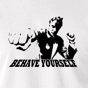 Get Carter - Jack Carter, Behave Yourself - Men's T Shirt