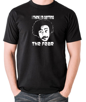 Fear and Loathing in Las Vegas - Dr Gonzo, I Think I'm Getting The Fear - Men's T Shirt - black