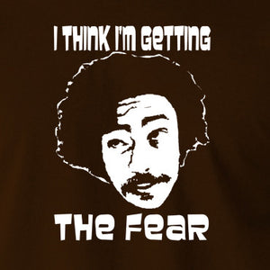 Fear and Loathing in Las Vegas - Dr Gonzo, I Think I'm Getting The Fear - Men's T Shirt