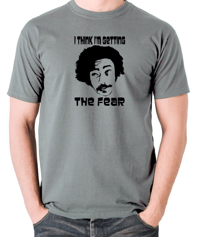 Fear and Loathing in Las Vegas - Dr Gonzo, I Think I'm Getting The Fear - Men's T Shirt - grey